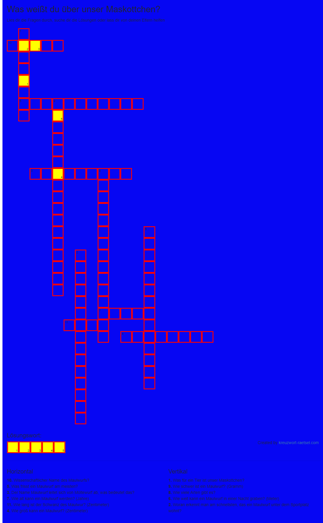 Kreuzworträtsel Online Bild
